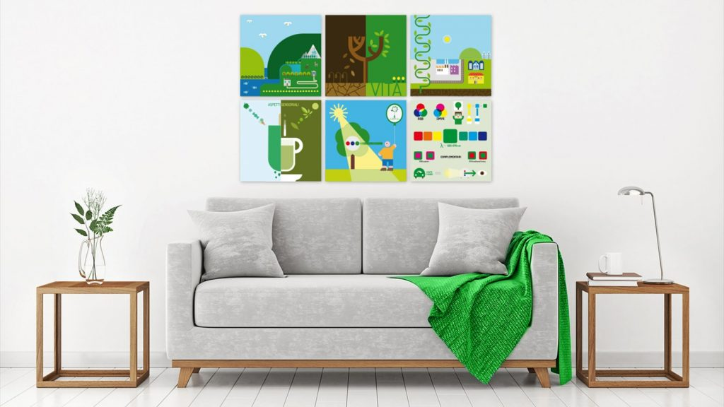 Living Room Poster
