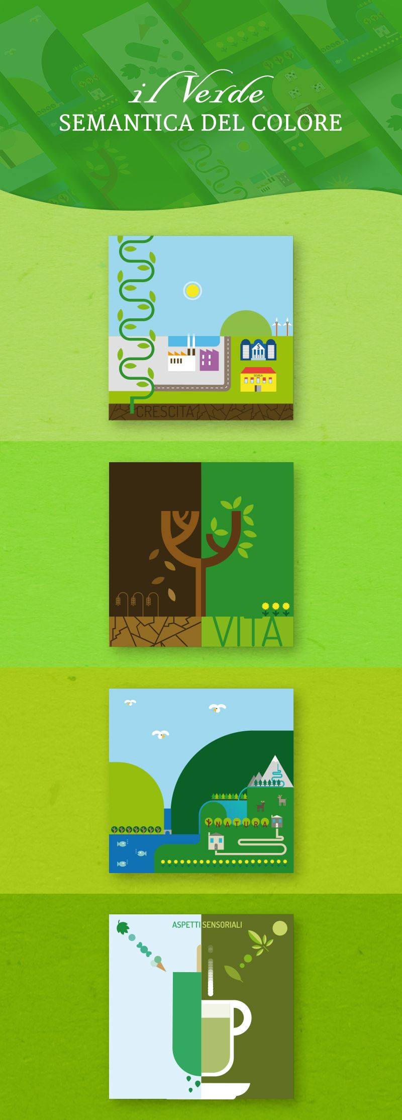 Semantica del Colore Verde