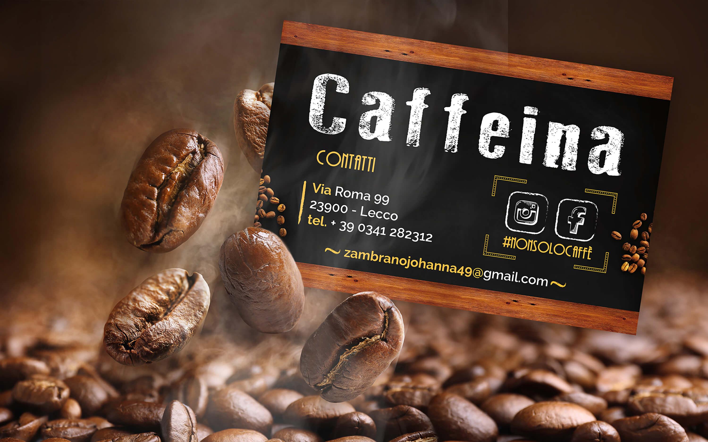 Caffeina - Biglietto da visita