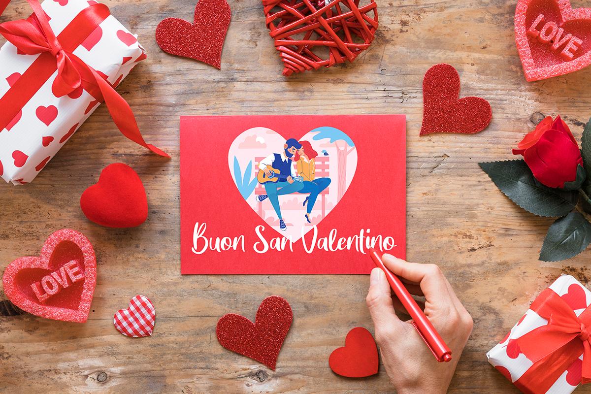 Realizzazione biglietti di auguri san valentino